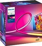 Philips Hue Gradient LightStrip 55' (sincronización con TV, música y juegos),...