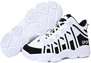 [フルールアンフェ] ハイカット スニーカー メンズ バッシュ バスケットシューズ 靴 白スニーカー ストリート系スニーカー ストリートファッション basketball shoes FU-9234