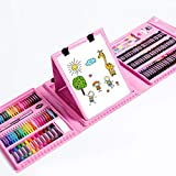 Fighrh 176 piezas de dibujo Estudiante regalo del cepillo Set de escritorio de Creative Kids Cepillos DIY Pluma de la acuarela Conjunto caja de regalo de los niños que aprenden los niños dibujo a lápi