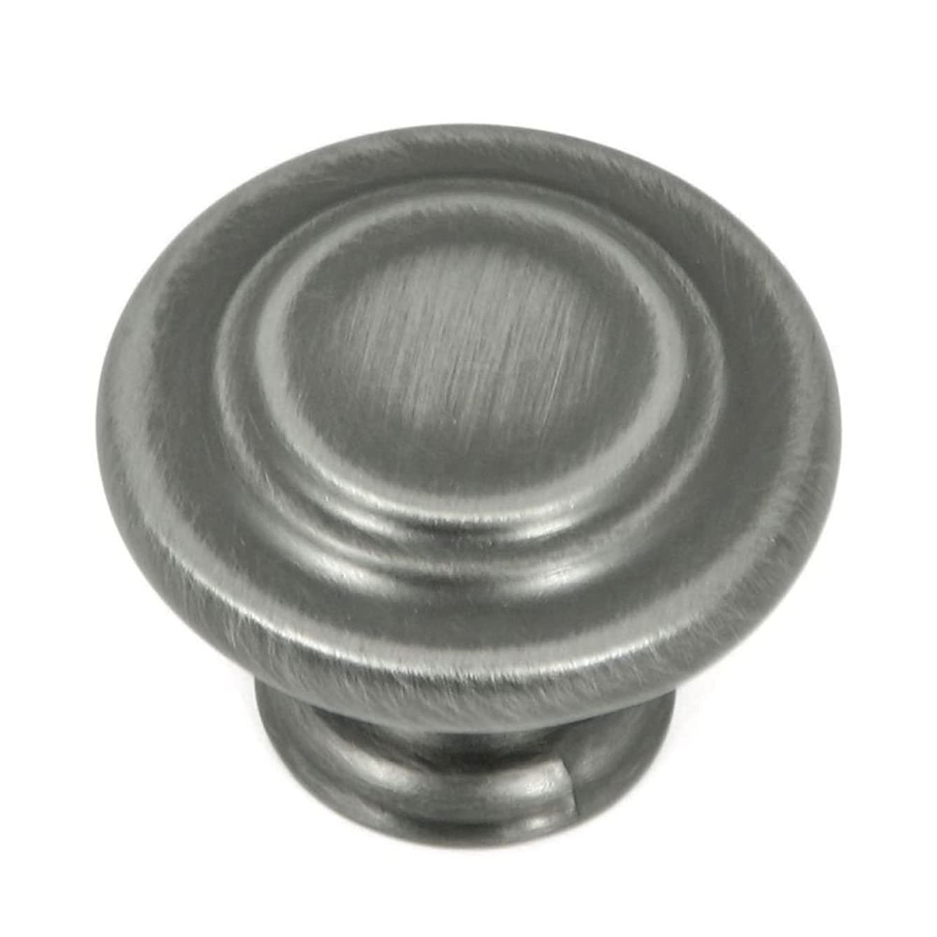 Stone Mill Hardware CP1398-WEN-25P Weathered Nickel Three Ring Cabinet Knob, 25-Pack