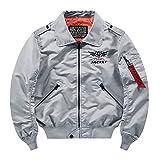 MAYOGO Herren Regenjacke Windbreaker Outdoor Jacke Funktionsjacke Arbeitskleidung Bikerjacke...