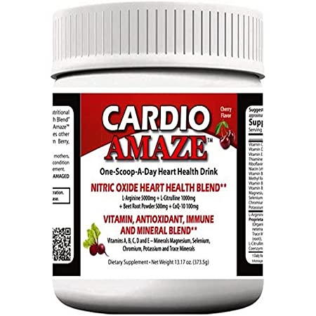 Cardio Amaze Nitric Oxide Booster Single (Cherry)
