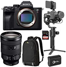 $4896 » Sony a7R IV Mirrorless Camera FE 24-105mm f/4 G OSS E-Mount - Bundle with DJI Ronin-SC Gimbal Stabilizer Pro Combo, 128GB SDXC Card, Lowepro BP 150 Backpack Nylon Black, Spare Battery