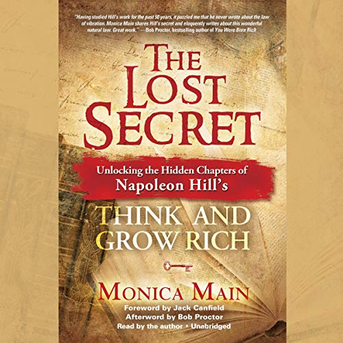The Lost Secret audiobook cover art