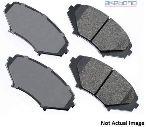 Akebono Performance Ultra-Premium Ceramic Disc Brake Pads