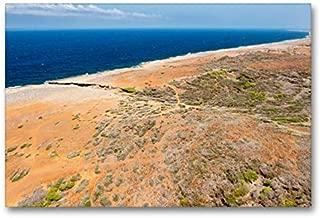 CALVENDO Premium Lienzo 90 cm x 60 cm Horizontal, North Coast Imagen sobre Bastidor, Listo en Lienzo auténtico, impresión en Lienzo Orte Orte