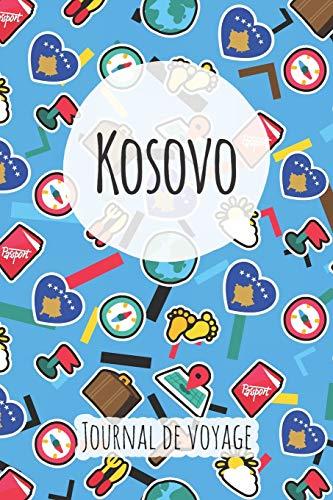 Journal de voyage Kosovo: Planificateur de voyage I Carnet de route I Carnet à grille à points I Carnet de voyage I Journal de voyage I Journal de poche I Cadeau pour le routard