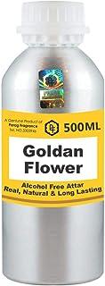 Parag Fragrances Goldan Flower Attar 500 ml Wholesale Pack Attar (Alcohol Free Long Lasting Attar for Men - Women & Relig...