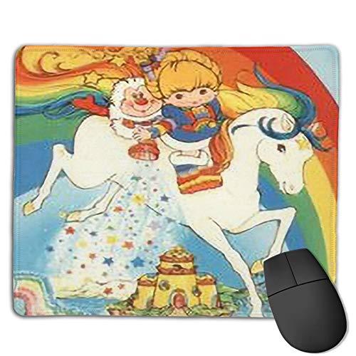 Mouse Pad Desk Pad Rainbow Bri-Te Stardust Rectangle Non-Slip Mousepad Mat Coaster