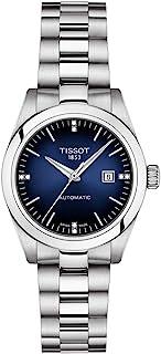 ساعت مچی زنانه Tissot T-My Lady از جنس استیل ضد زنگ خاکستری T1320071104600