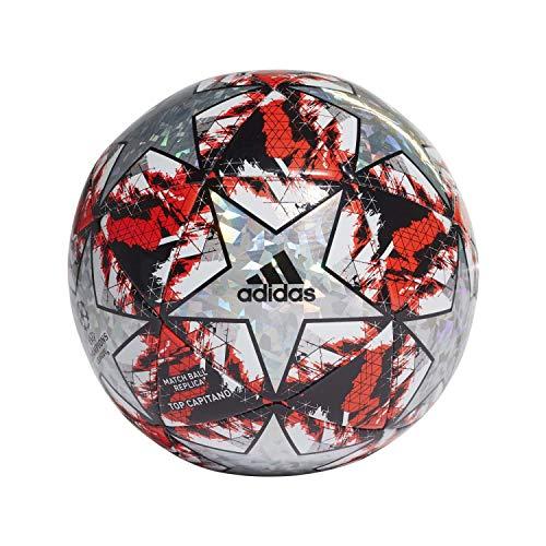 adidas Jungen Finale TCPT Turnierbälle für Fußball, top:Multicolor/hi-Res red s18/black/silver met. Bottom:White, 5