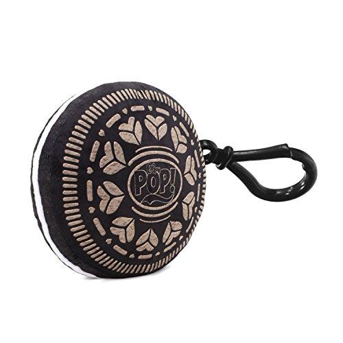 Oh My Pop Pop! Black Cookie-Pillow Keyring Schlüsselanhänger, 10 cm, Schwarz (Black)