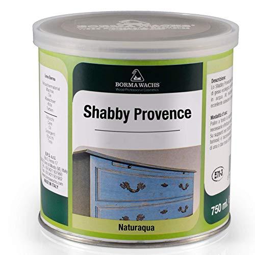 BORMA WACHS Pittura gesso per pareti e mobili Shabby Chic - 375ml - Colore Tortora