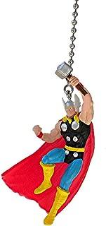 THOR the Avengers superhero super hero DC comics vinyl Ceiling FAN PULL light chain