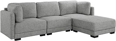 Terrific Amazon Com Baxton Studio Agnew Contemporary Light Beige Uwap Interior Chair Design Uwaporg