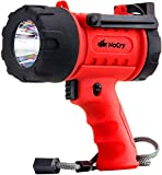 Best Spotlights - NoCry 18W Waterproof Rechargeable Flashlight (Spotlight) with 1000 Review