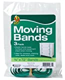 Duck Brand 284852 Elastic Moving Bands, 0.75 Inch Width and 72 Inch Inner Circumference, 3 Pack, Green