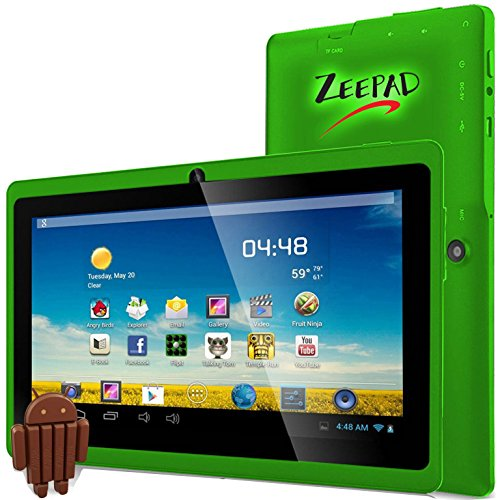 Zeepad 7DRK-Q-Green 7Drk-Q, 7' Android Tablet, 4 GB, Green