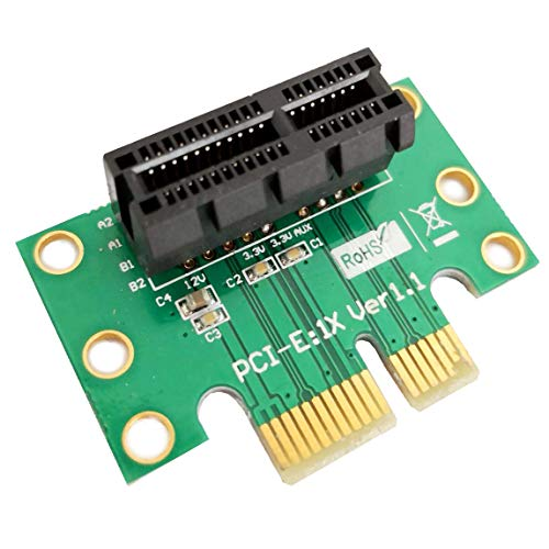 3 Units - PCI Express (PCI-E) 1X Adapter Riser Card 90 Degree For 1U/2U Server Chassis