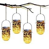 Mason Jar Tiki Solar Lanterns Lights