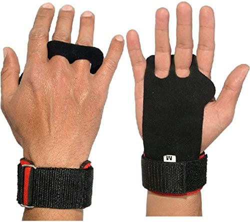 Pull-up Hand Grips with Max 54% OFF Wrist f Wrap and Year-end gift Protection Leather