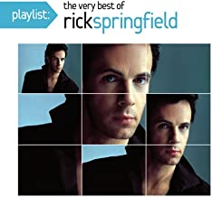 Rick Springfield - Playlist: The Very Best Of Rick Springfield Japan SICP-3647