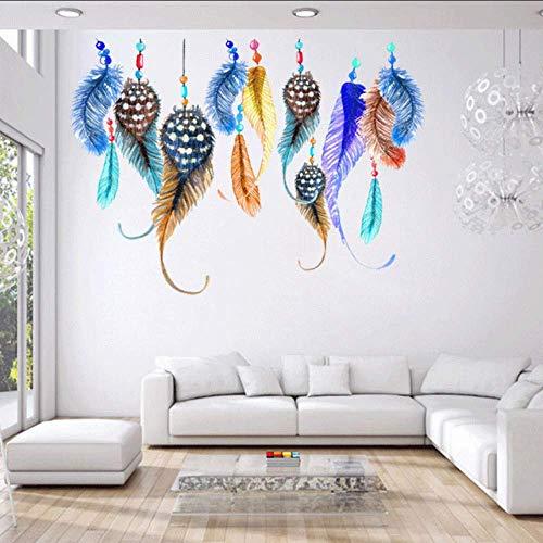 Coloridos Adhesivos De Pared Calcomanías Mujeres Hogar Salón Dormitorio Ventana Muebles África Decoración Artes Étnicas Papeles De Pared Murales