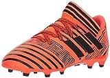 adidas Girls Nemeziz 17.3 FG J Soccer Shoe, Solar Orange/Black/Black, 6 Little Kid