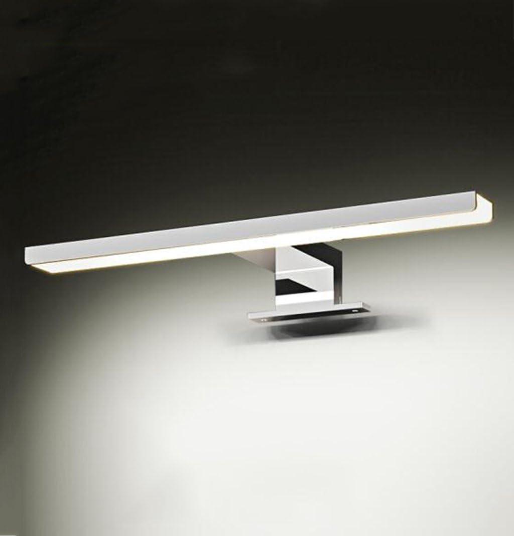 Jingguideng LED Spiegelleuchte Wasserdicht Und Beschlagfrei Badleuchte Bad Wandleuchte Spiegelscheinwerfer (Color : White light-5W/30CM) White Light-8w/60cm