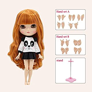 ICY Bobble Head Big Eyes Cute Doll Joint Body Doll Include The Hand Set A&B 12 inch Dolls for Girls