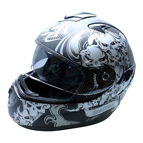 Roadstar Integral-Helm Future Zombie, Schwarz (Matt), Größe 63/64