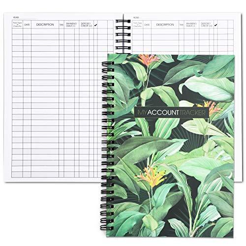 Expense Tracker Notebook, Budget Journal (50 Sheets, 2 Pack)