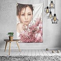 安室 奈美恵 タペストリー 壁掛け ポスター 背景布 壁飾り 家 リビングルーム ベッドルーム 部屋 おしゃれ 100*150cm