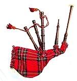 Spielbarer, schottischer Mini-Dudelsack für Kinder, Pfeifen aus Rosenholz, Beutel mit...