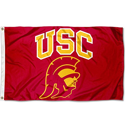 College Flags & Banners Co. USC Trojans Trojan Head Flag