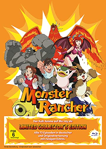 Monster Rancher - Die komplette Serie Limited Edition (Ep. 1-73) (6 Blu-rays)