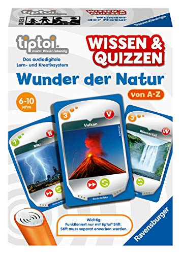 Ravensburger 00038 Wunder der Natur tiptoi Quizspiel
