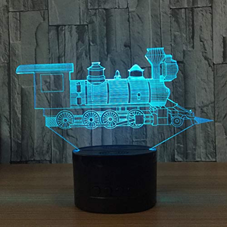 NSYW Zug Modell 3D Nachtlicht USB Neuheit Geschenke 7 Farben ndern Led Schreibtisch Tischlampe Als Heimtextilien Changeable