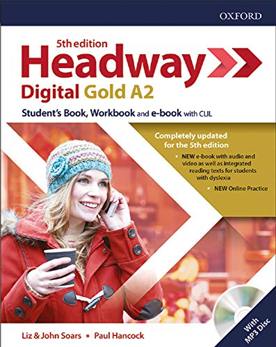 Headway digital gold A2. Student's book-Workbook. Without key. Per le Scuole superiori. Con espansione online