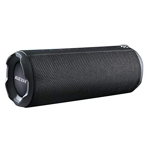 Leeofty Altavoz Bluetooth HS880 Altavoces portátiles inalámbricos de 20 W Función TWS Soporte para Tarjeta TF/AUX IN/USB Reproducción de música IPX5 Manos Libres a Prueba de Agua con micrófono para