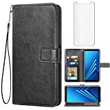 Asuwish Compatible with Samsung Galaxy A8 Plus 2018 Wallet