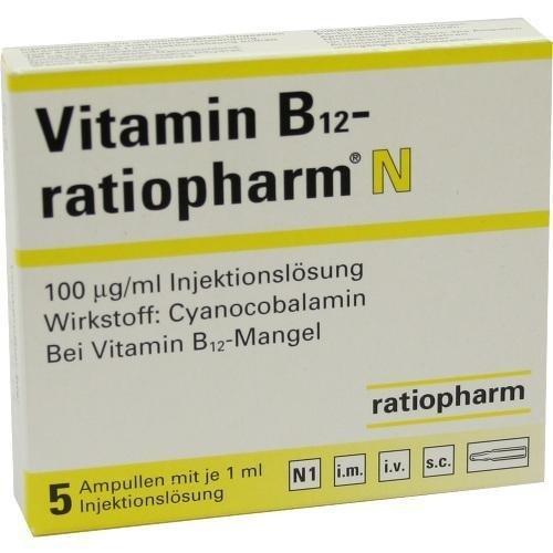 Vitamin B12-ratiopharm Ampullen, 5x1 ml
