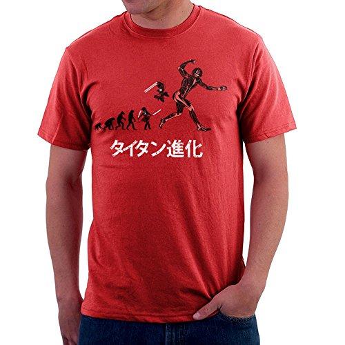 Cloud City 7 Titan Evolution Attack on Titan Eren Men's T-Shirt