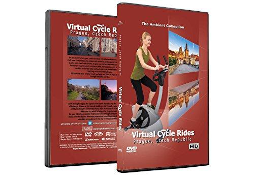Virtuelle Fahrradtouren DVD - Prag, Tschechische Republik - für Indoor Radfahren, Laufband und Jogging Workouts