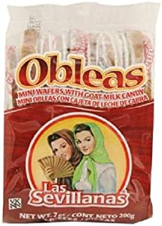 OBLEAS MINI WAFERS With GOAT MILK CANDY 7 oz Each ( 20 in a Pack )