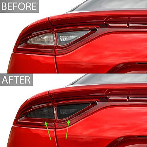 Bogar Tech Designs Tail Light Precut Tint Kit Compatible with and Fits Kia Stinger 2018-2021, Dark