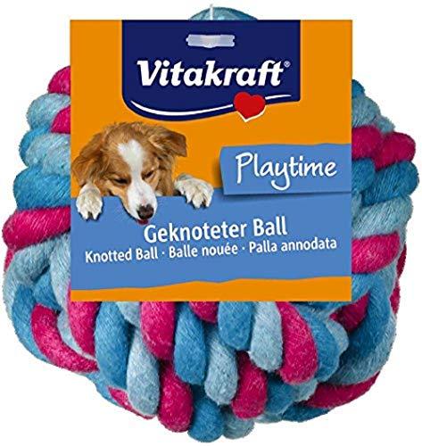 Vitakraft Hundespielzeug Ball 2Modelle in Paaren Baumwolle für Hunde