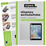 dipos I 2X Schutzfolie matt kompatibel mit Apple iPad Pro 9.7 Folie Displayschutzfolie