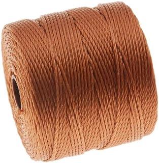 S-Lon Super-Lon Cord - Size 18 Twisted Nylon - Copper / 77 Yard Spool