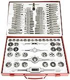 Metalworks SKC110ETM - Juego de machos y fileras con giramachos, 110 piezas